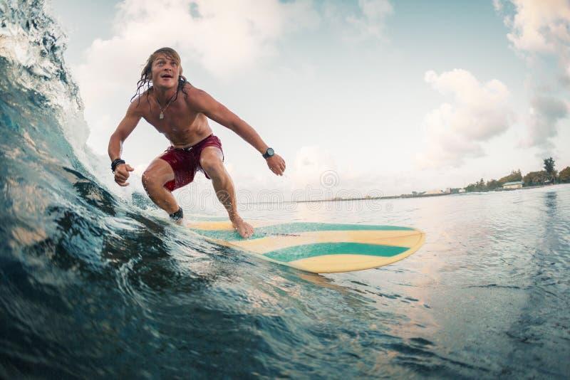 Surfista novo fotografia de stock royalty free