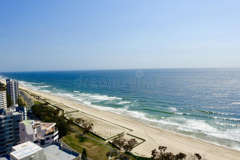 Surfista Paradise de Gold Coast foto de stock