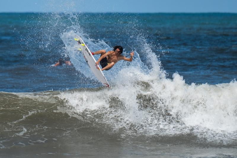 Surfista profissional imagem de stock royalty free