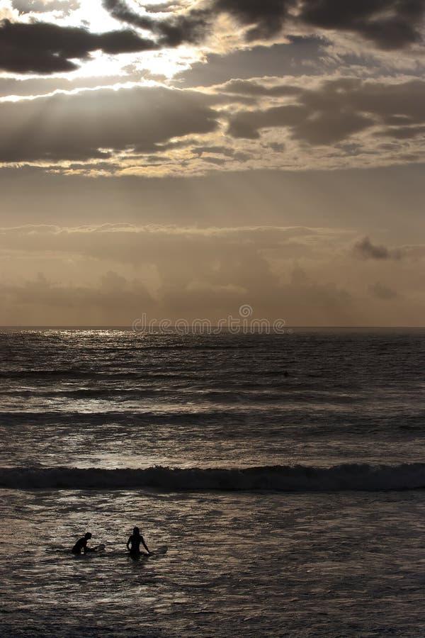Surfistas de Sligo imagem de stock royalty free