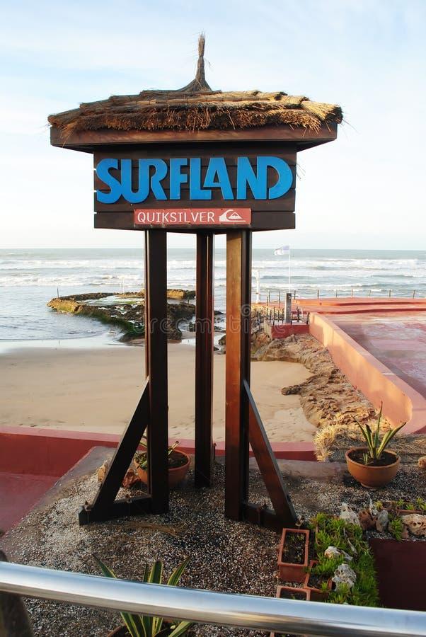 Surfland zdjęcie royalty free