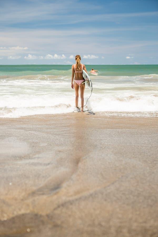Surfować całodniowy długiego obrazy stock