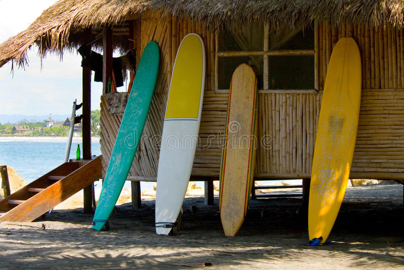 surfplank royalty-vrije stock afbeelding