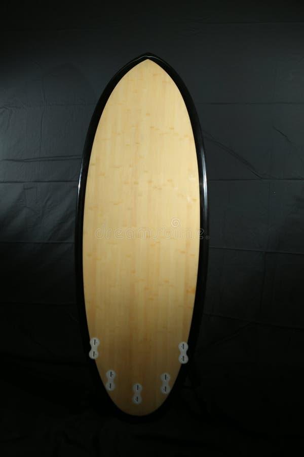 Surfplankfoto die in studio schieten royalty-vrije stock fotografie
