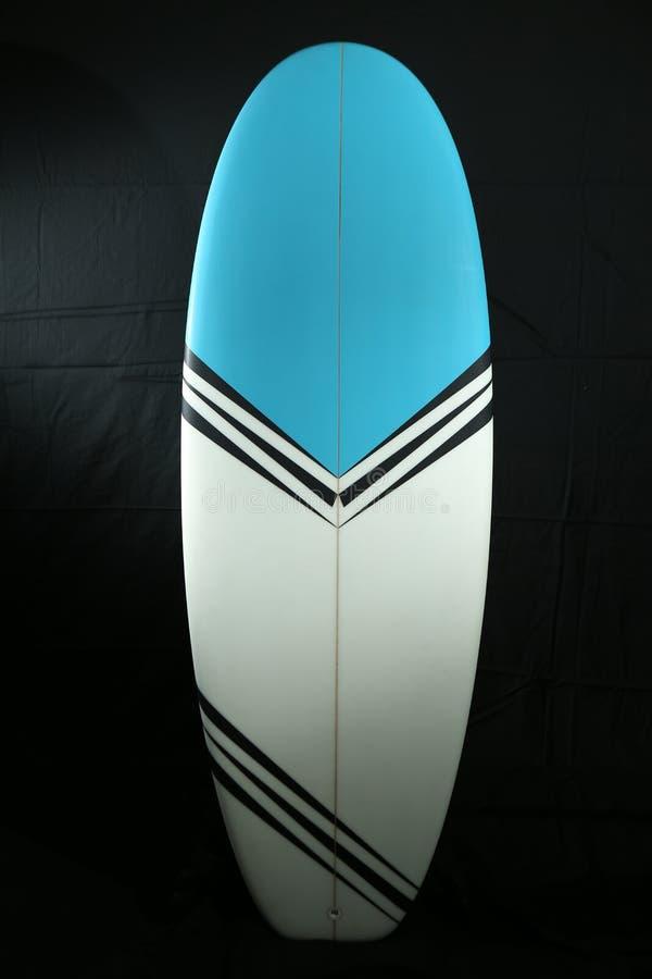 Surfplankfoto die in studio schieten royalty-vrije stock afbeelding