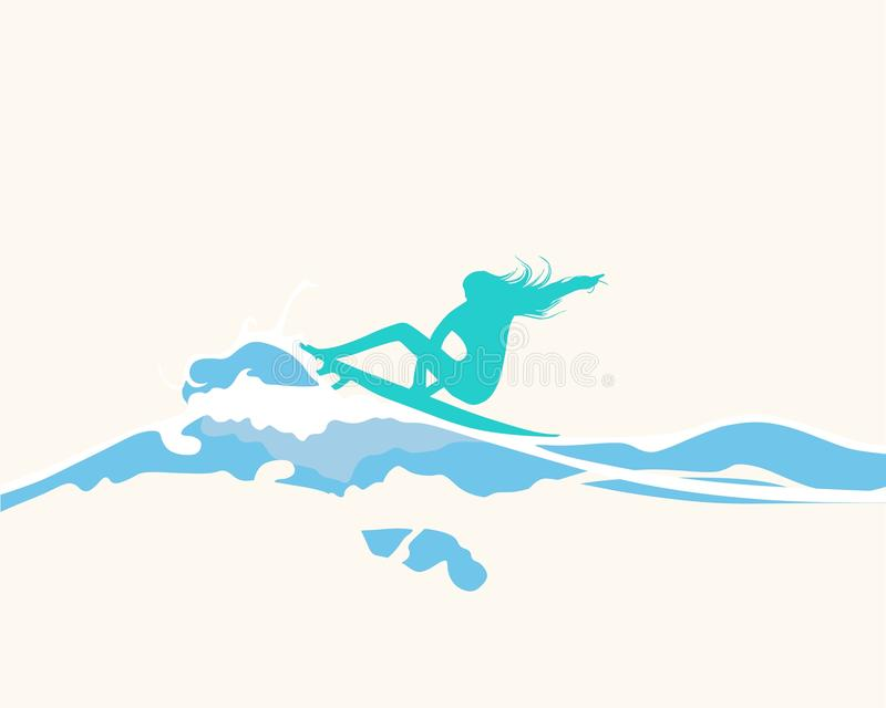 Download Surfs up 2 stock illustration. Illustration of grunge - 21381939