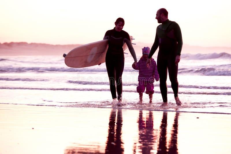 Surftime royaltyfri bild