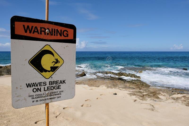 Surfuj na Oahu zdjęcie royalty free