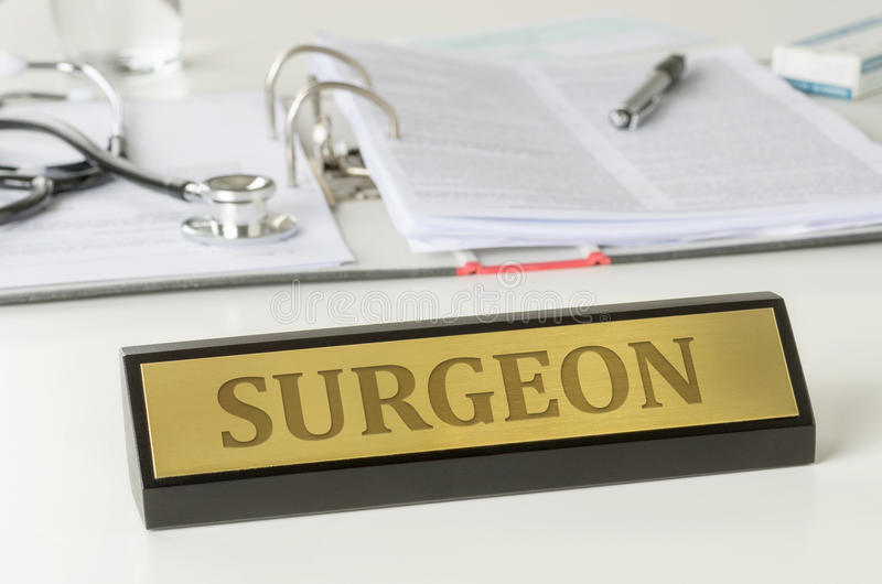 Surgeon royalty free stock photos