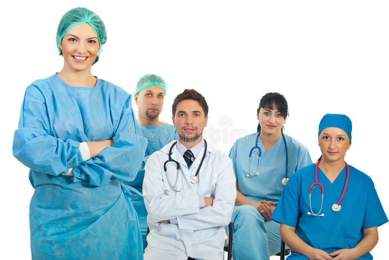 Surgeon Woman Teacher Royalty Free Stock Photo