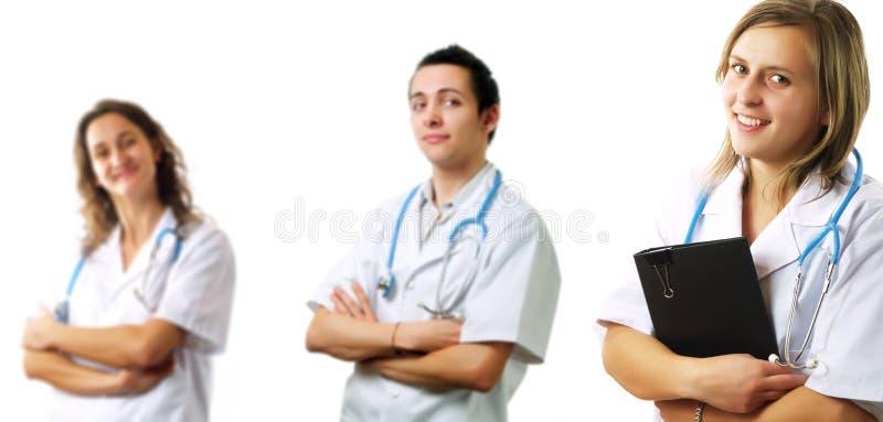 Surgeons team stock photography