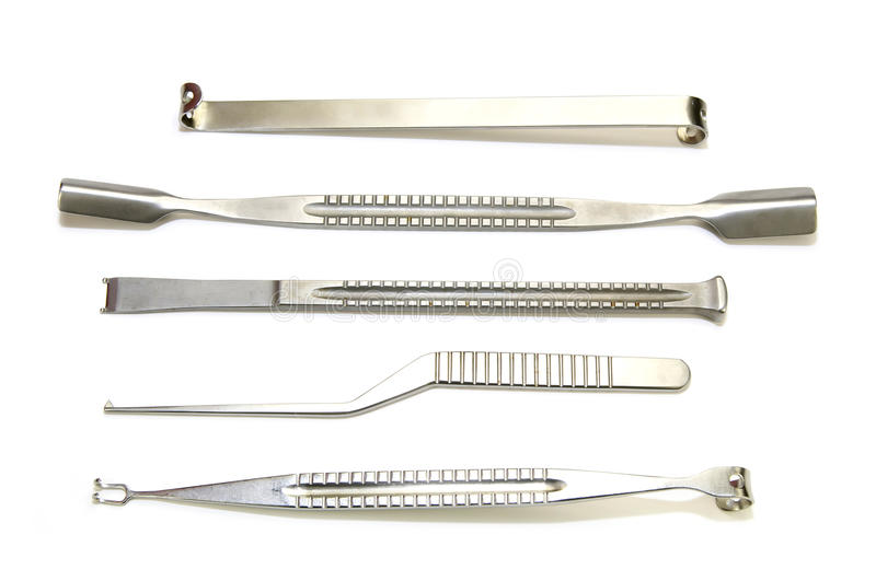 Surgical instruments royalty free stock images