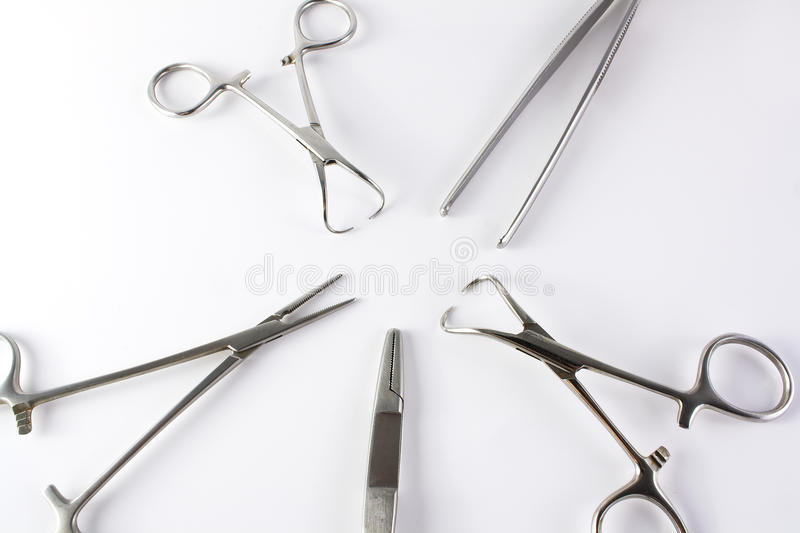 Surgical medical instruments royalty free stock photography