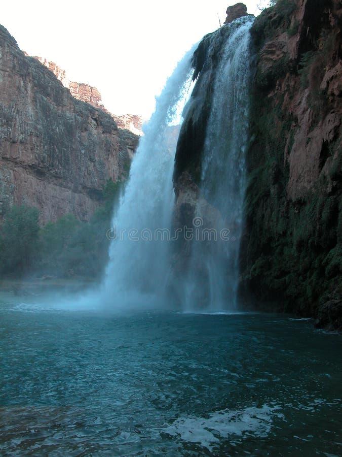 Surging waterfall stock photos
