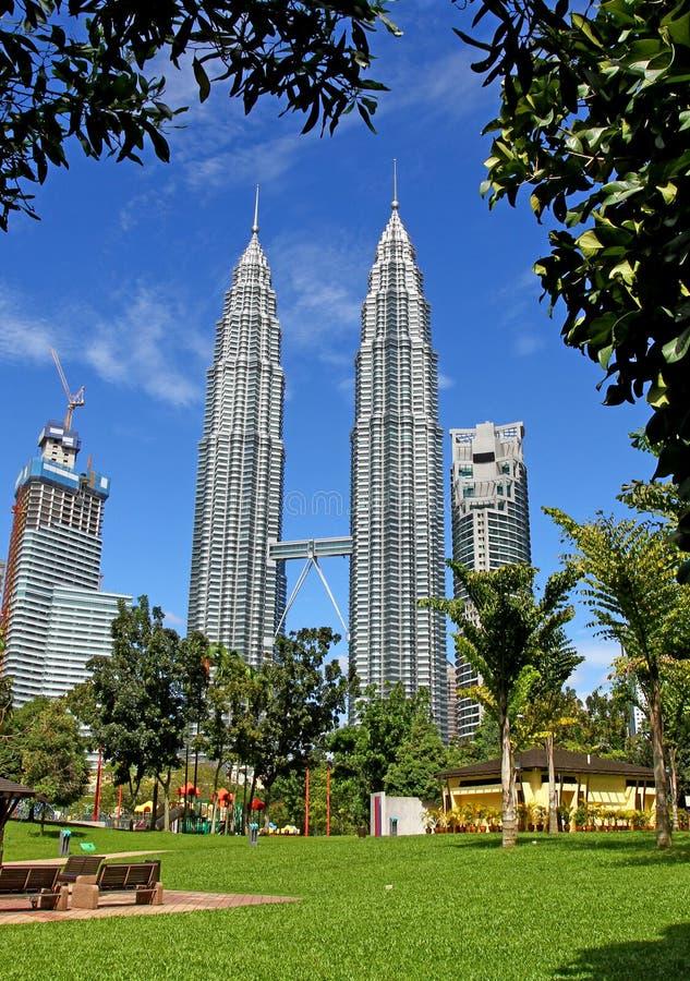 Suria KLCC Petronas tvillingbröder - 006 arkivfoton