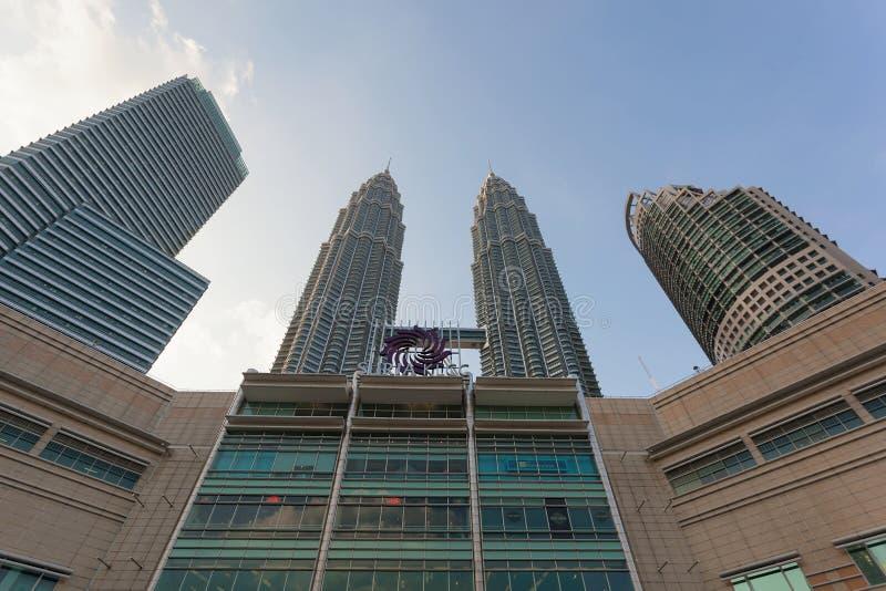 Suria KLCC zakupy centrum handlowe w Kuala Lumpur zdjęcia royalty free