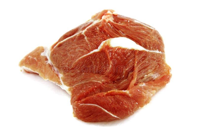 surowa wieprzowina zdjęcie stock