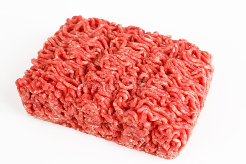 Surowa wołowina minced mięso zdjęcia stock