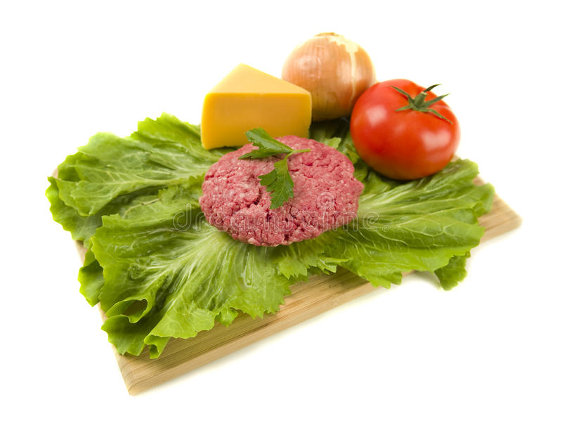 surowe hamburger polewy zdjęcia royalty free