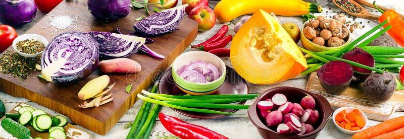 surowe warzywa zdjęcia stock