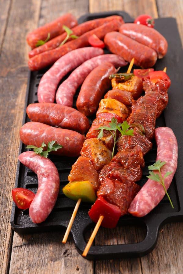 surowi asortowani mięsa zdjęcie royalty free