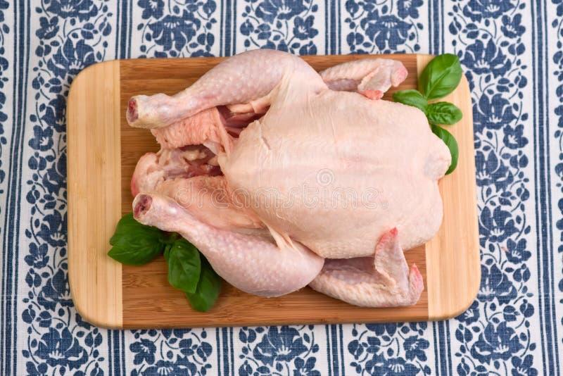 surowy kurczak fotografia royalty free
