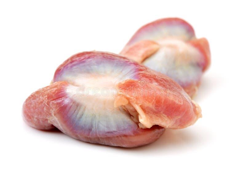 Surowy kurczaka piasek żywy obraz stock