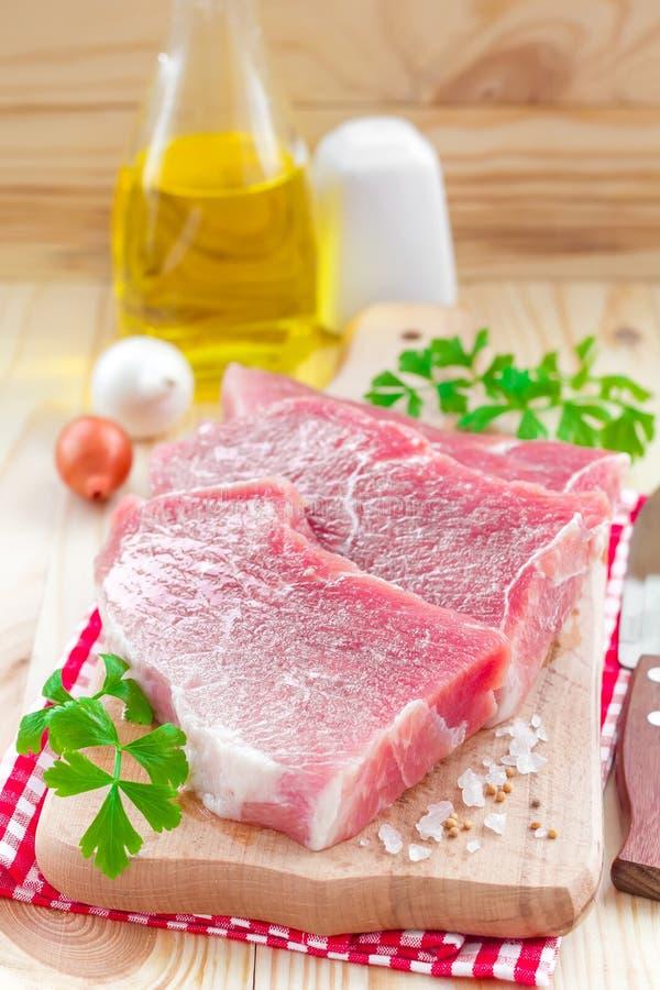Surowy mięso zdjęcie royalty free