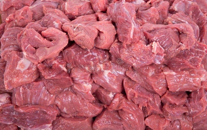 Surowy wołowiny mięsa zbliżenie zdjęcie royalty free