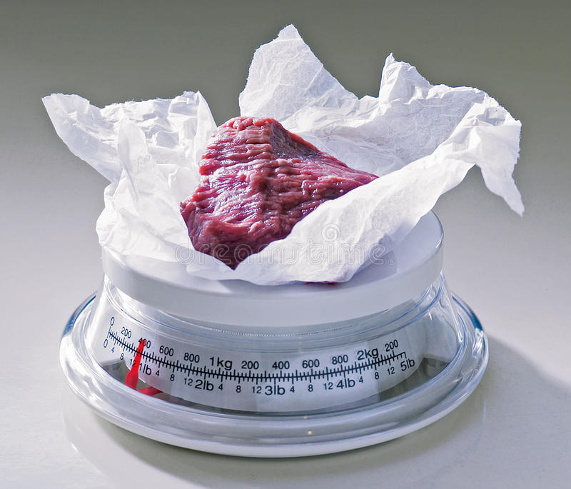 Download Surowy wołowina stek obraz stock. Obraz złożonej z posiłek - 13337773