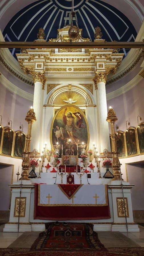 Surp Kevork Armenian Church em Istambul fotografia de stock