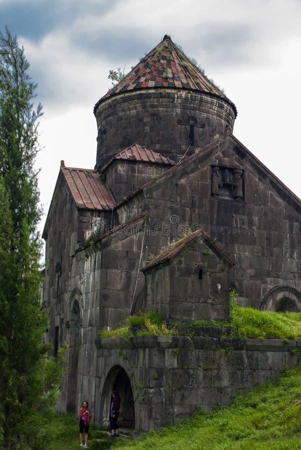 Surp Nshan,亚美尼亚教会在Haghpat修道院的 图库摄影