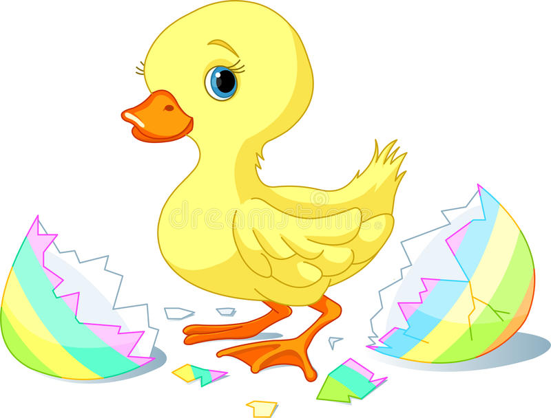 Surpresa de Easter ilustração do vetor