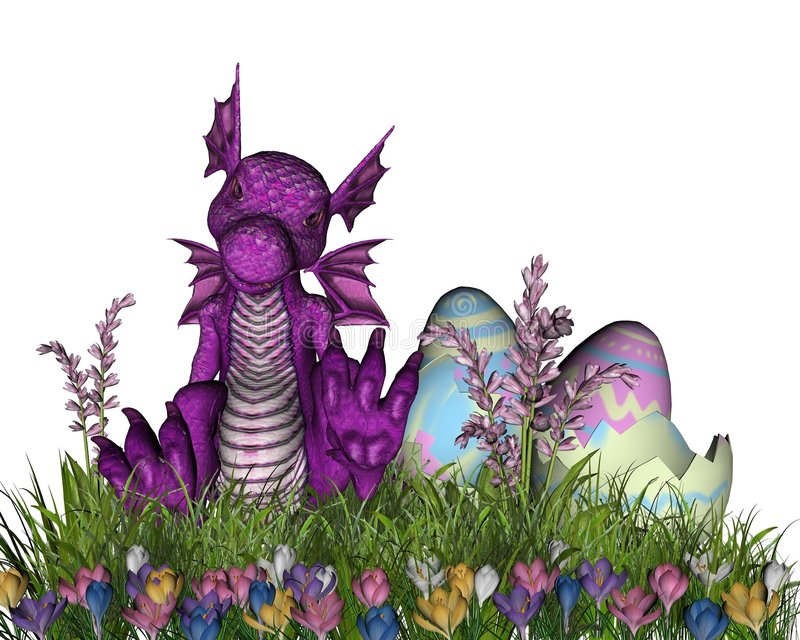 Surpresa de Easter ilustração stock