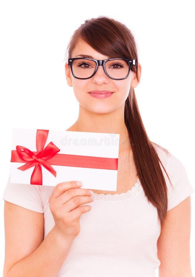 Download Surprise stock image. Image of holding, greeting, bonus - 13842559