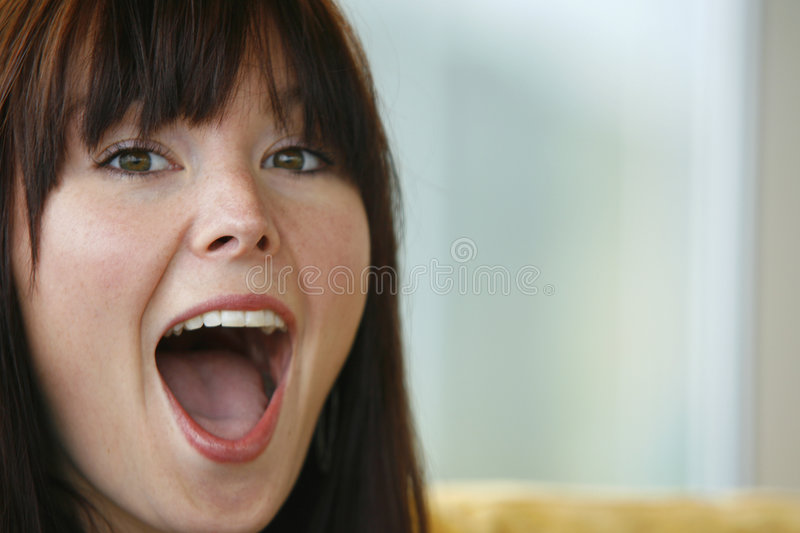 Surprise! stock photography
