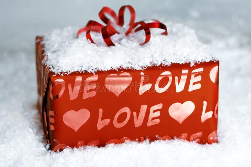 Surprise avec amour image stock