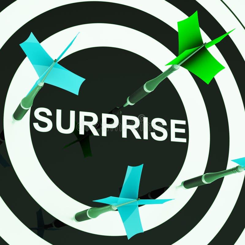 Surprise On Dartboard Shows Shocked Target