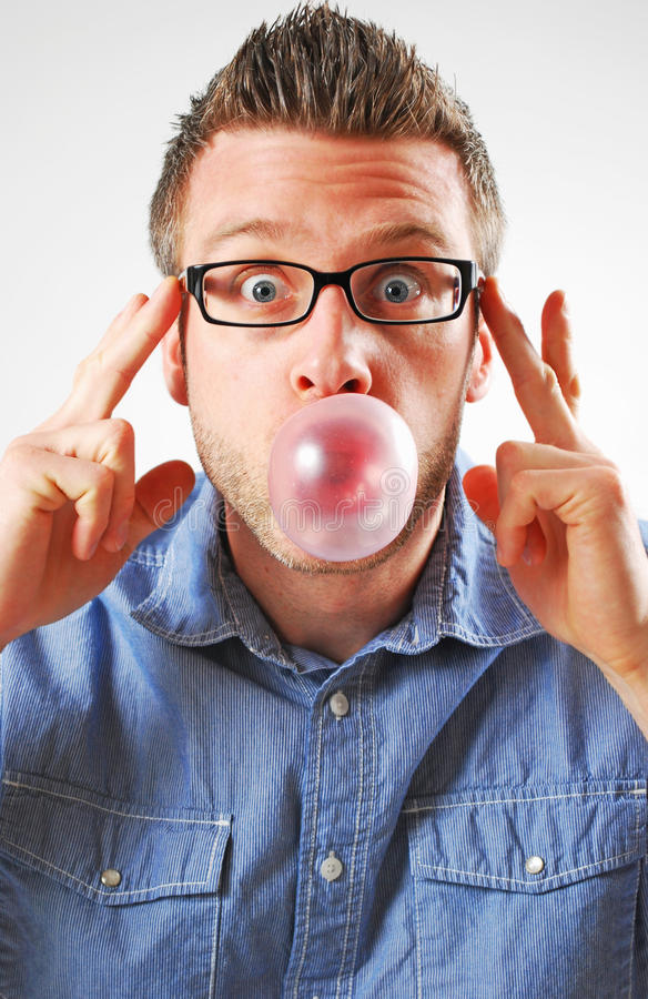 Surprise de bulle photographie stock