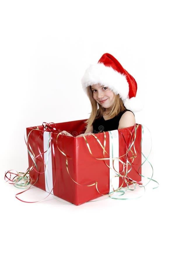 Surprise de Noël - série photo libre de droits