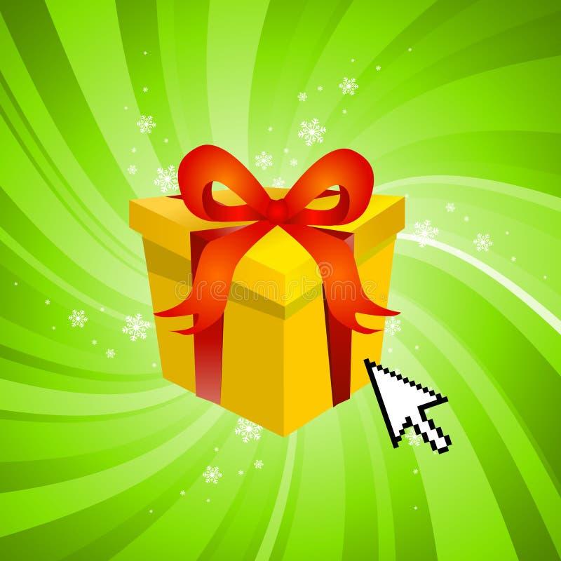 Surprise gift stock illustration