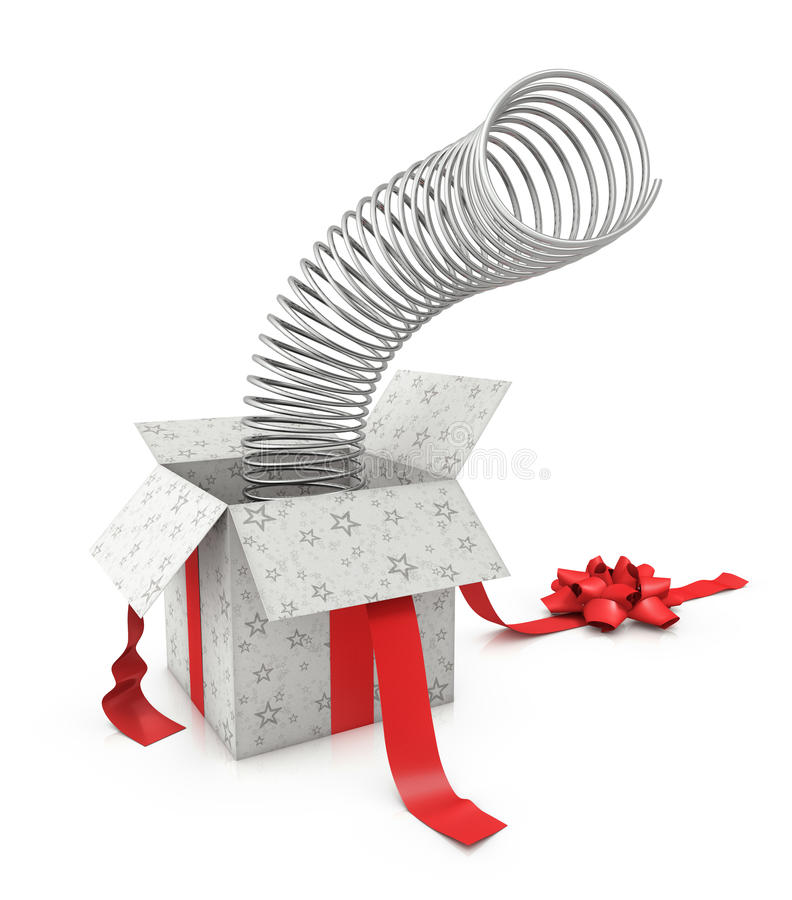 Surprise Gift Stock Photography
