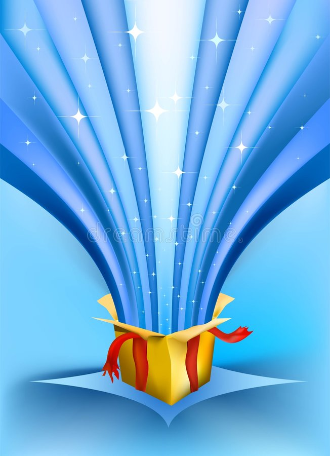 Free Surprise Gift Vector Royalty Free Stock Images - 6799809