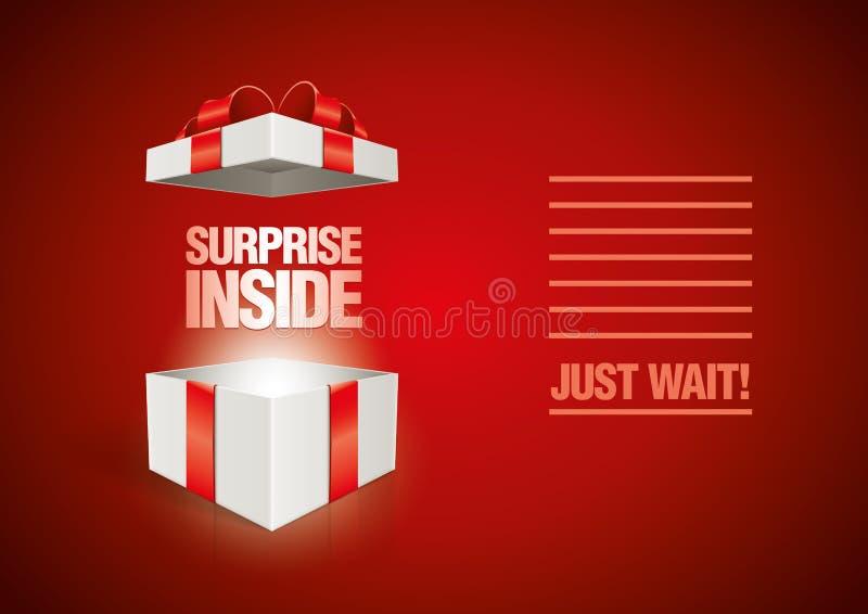 Surprise Inside Stock Image