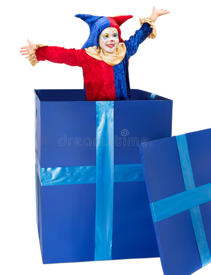 Download Surprise party stock photo. Image of makeup, child, cheerful - 27425154
