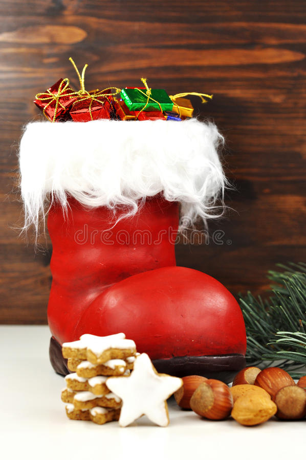 Download Surprise on St. Nicholas stock photo. Image of time, december - 27628508