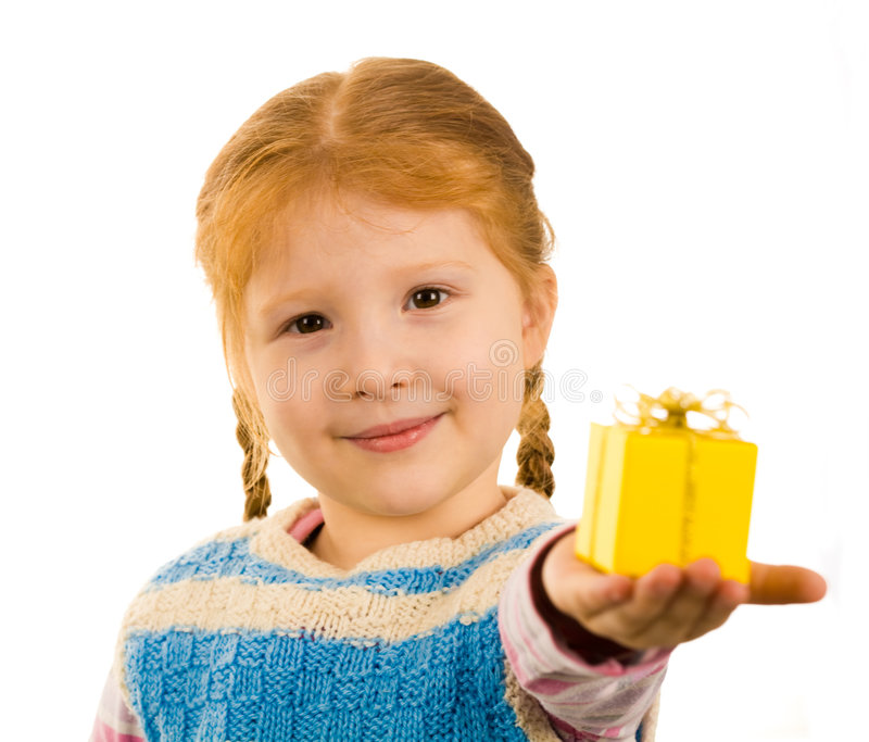 Download Surprise for you stock image. Image of gift, person, childish - 7218433