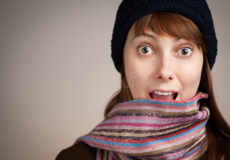 Download Surprised Beautiful Young Woman Stock Image - Image: 16590029