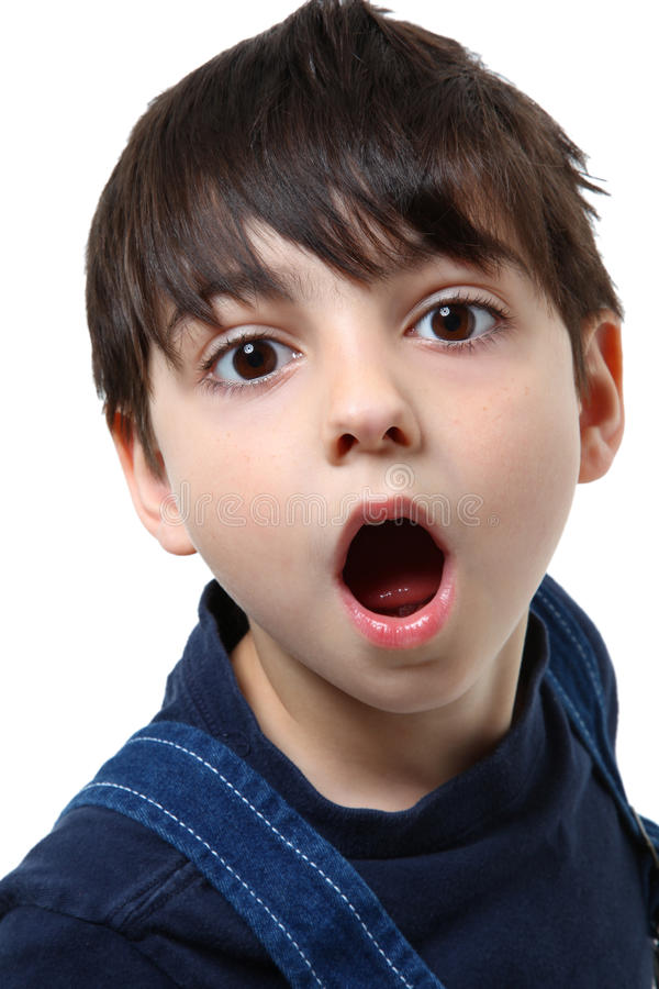 Free Surprised Boy Stock Photography - 11637832