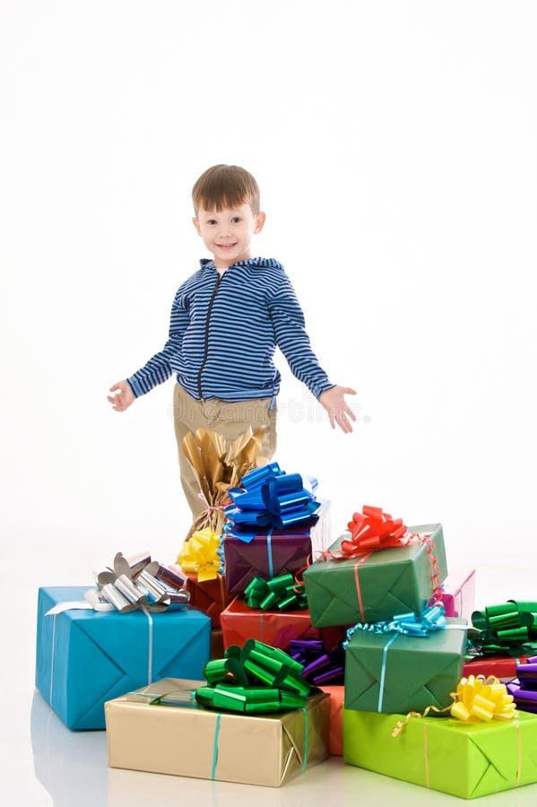 Surprised boy royalty free stock image